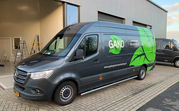 Autobelettering  - Gako hoveniers
