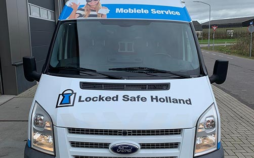 Autobelettering  - Locked Safe Holland