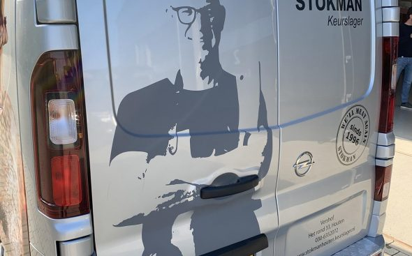 Autobelettering  - Keurslager Stokman