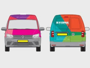 Autobelettering Tiel - Meerpaal Grafimedia