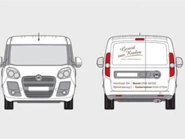 Autobelettering Beesd - Van Keulen