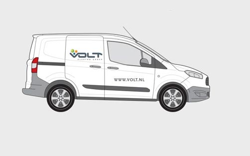 Volt Elektro Groep - Autobelettering Kemker